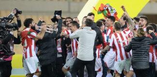 L'Athletic Bilbao vince la supercoppa di Spagna: rosso per Messi