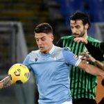 Lazio-Sassuolo voti primo tempo