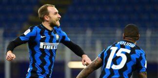 Inter, chance da titolare per Eriksen
