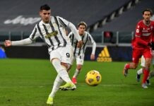 Juventus Spal Morata