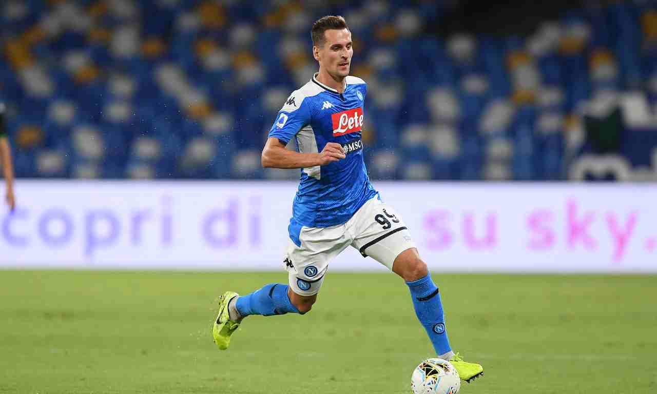 Calciomercato Napoli, UFFICIALE: Milik ha firmato con il Marsiglia