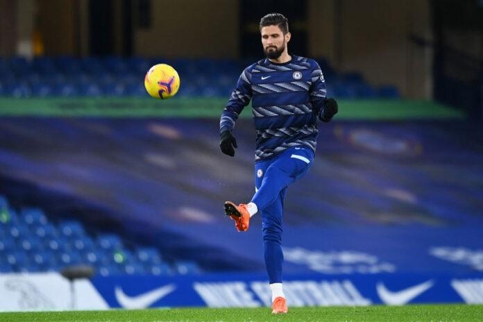 Giroud Juve Chelsea