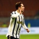 Chiesa in gol con la Juventus