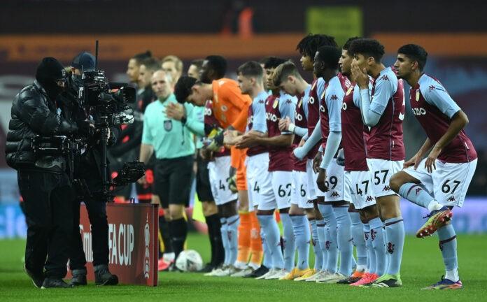 Aston Villa Liverpool focolaio covid