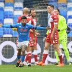 Napoli Fiorentina gol Insigne