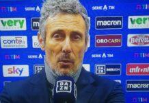 Sampdoria-Udinese, Gotti ha parlato dopo la sconfitta di questa sera