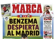 Marca, Benzema despierta al Madrid