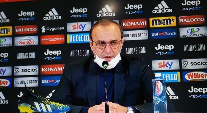Marino in conferenza stampa