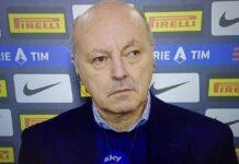 "Inter-Juventus, Marotta: ""Niente investimenti"" | Novità su Eriksen"