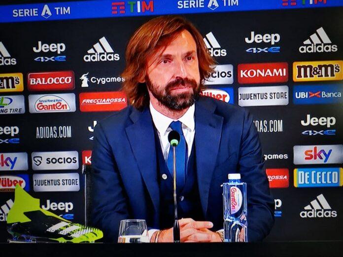 Pirlo in conferenza Juve-Sassuolo