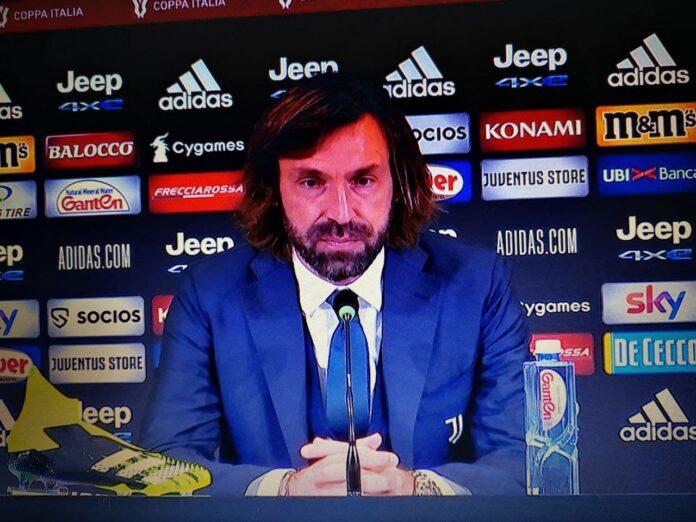 Conferenza Pirlo Coppa Italia