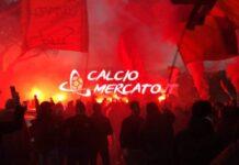 FOTO CM.IT | Lazio-Roma, delirio dei tifosi a Trigoria