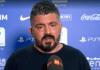 Gattuso post Juve-Napoli