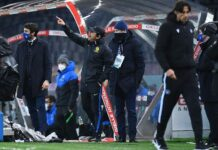 Udinese-Inter, Conte contro Maresca dopo l'espulsione