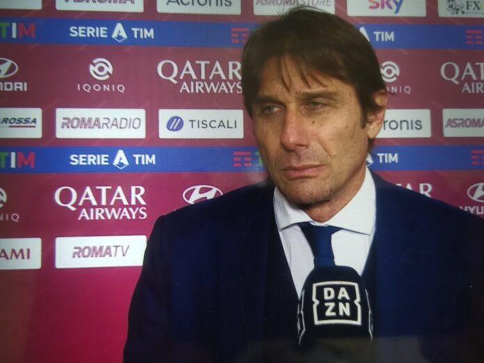 Roma-Inter, il commento di Antonio Conte
