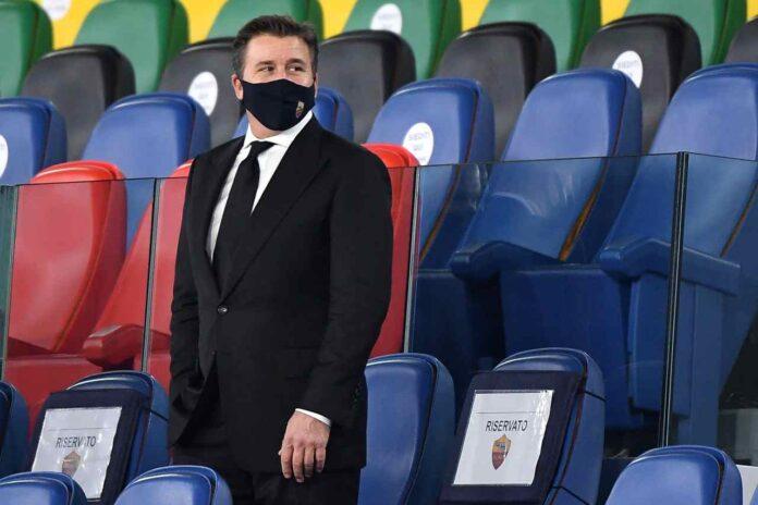 Roma Mourinho Friedkin