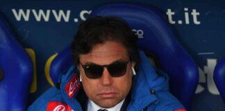 Calciomercato Napoli, De Laurentiis mette ai margini Giuntoli: la situazione
