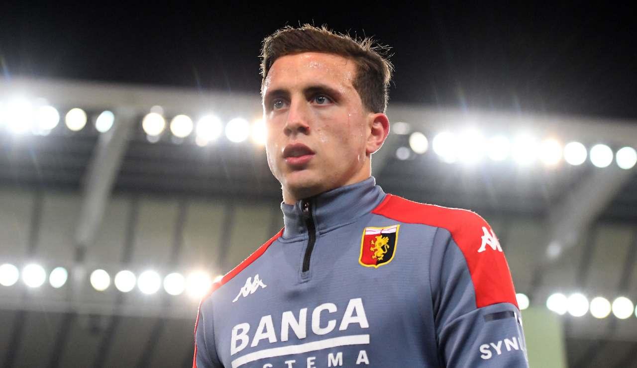 Genoa, infortunio muscolare per Pellegrini   Salta l'Inter!