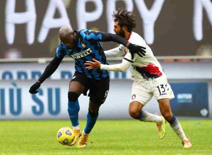 Inter-Crotone, Lukaku out per infortunio: problema muscolare alla coscia