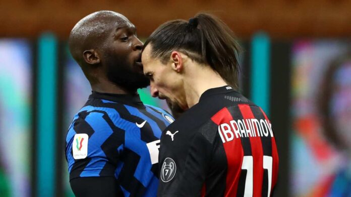Scontro Ibrahimovic Lukaku
