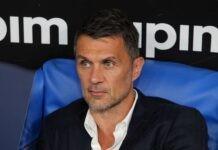 Paolo Maldini in panchina