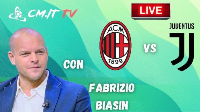 CMIT TV cronaca Milan-Juventus