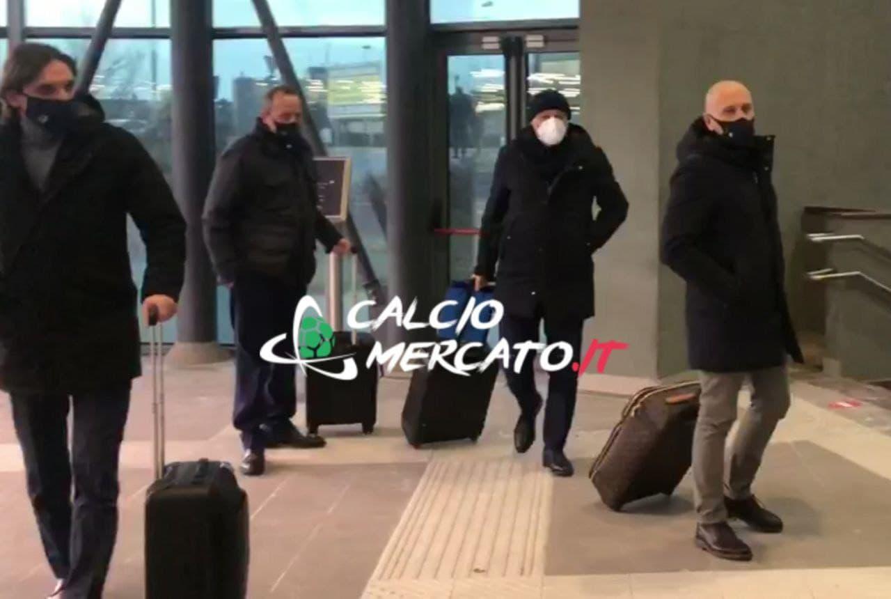 FOTO e VIDEO CM.IT | Coppa Italia, la partenza dell'Inter per Firenze: le decisioni su Vidal e Darmian