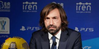 Andrea Pirlo in conferenza