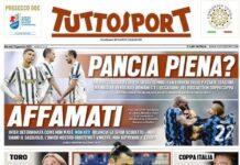 TuttoSport, la prima pagina del 19 gennaio