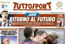 TuttoSport, la prima pagina di oggi 27 gennaio 2021