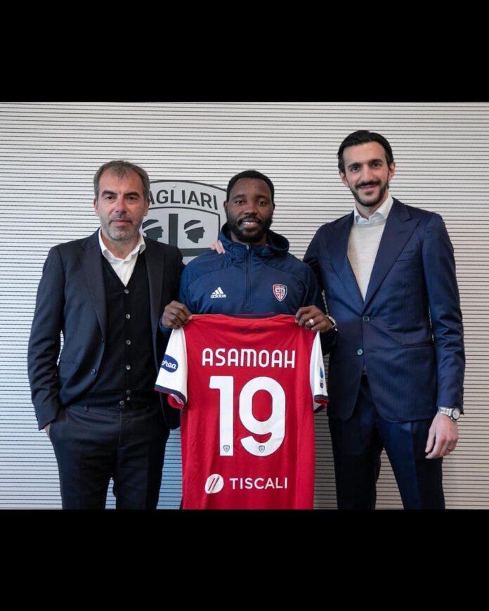 Asamoah firma Cagliari