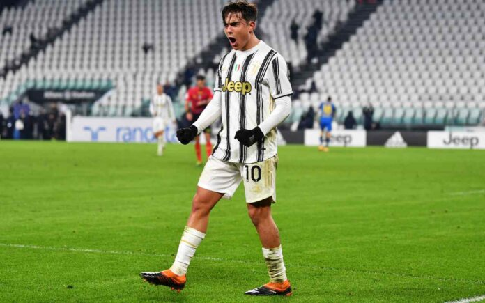 Dybala in campo