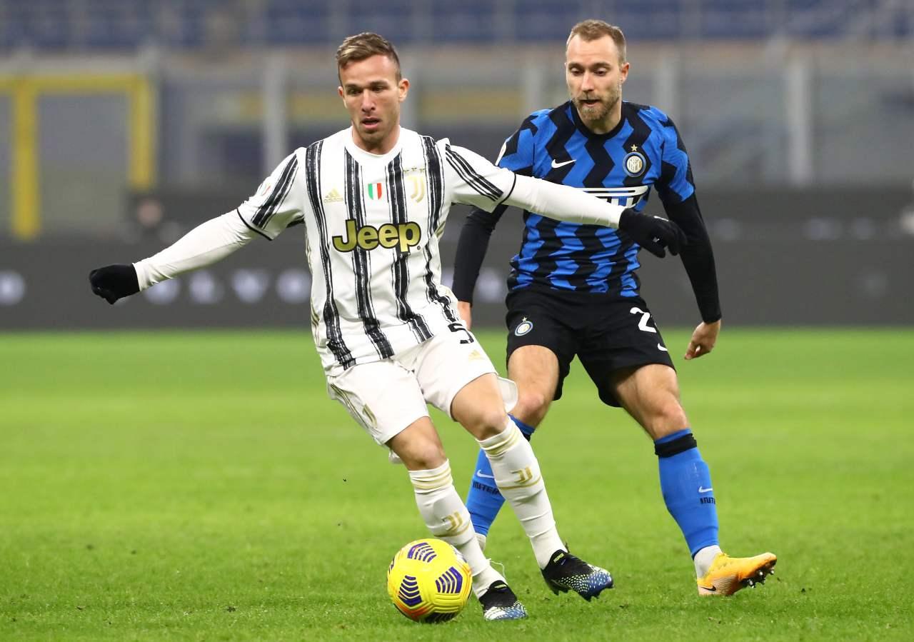 Juventus-Inter, Conte si affida a Eriksen | I motivi tattici della scelta
