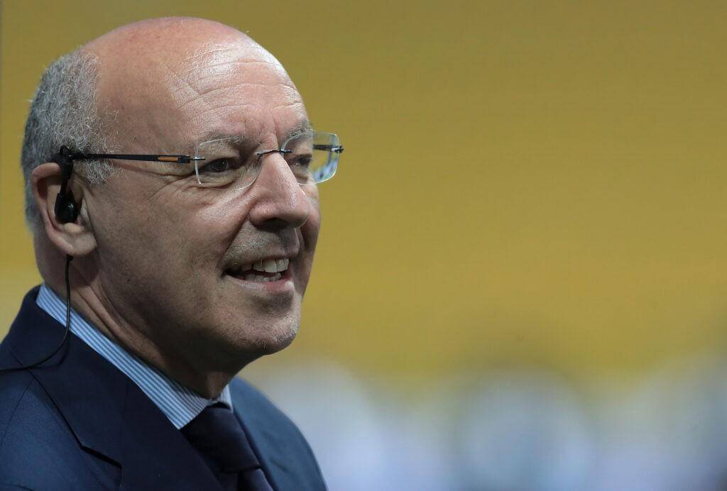Calciomercato Inter, la verità sullo scambio Dzeko-Sanchez: parla Marotta