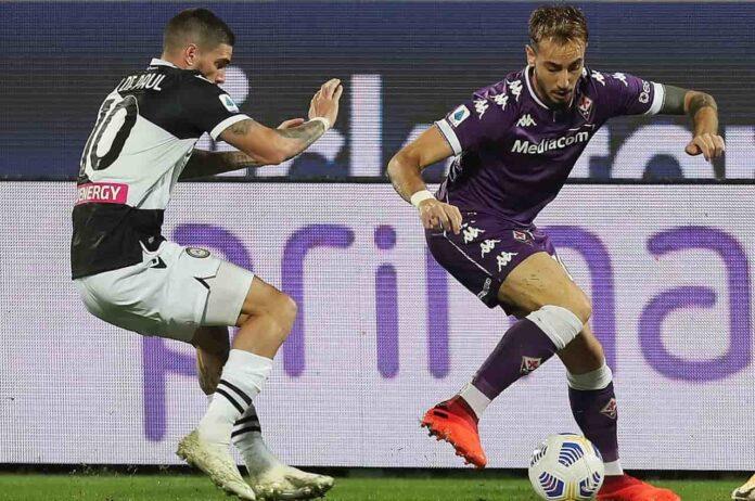 Diretta Udinese Fiorentina