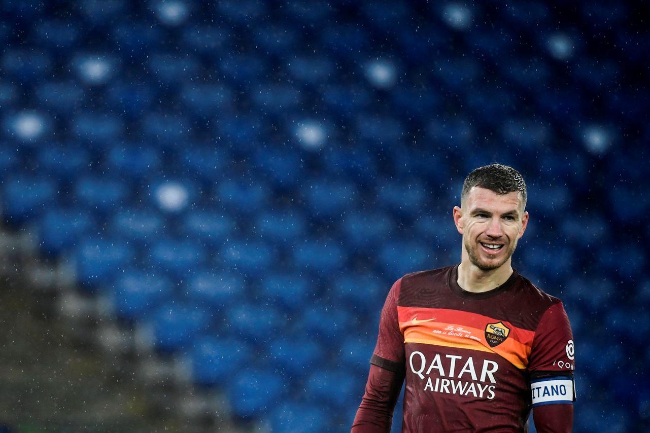 Calciomercato Roma, come cambia il futuro di Dzeko: gli scenari