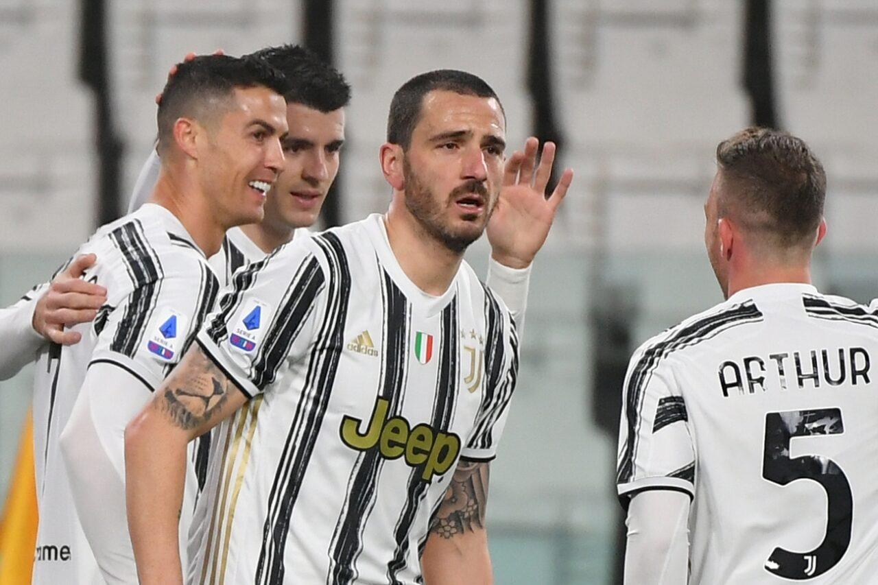 Juventus-Roma Bonucci infortunio