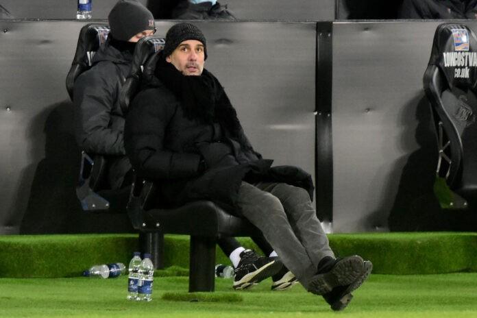 Guardiola guarda Lukaku Lautaro