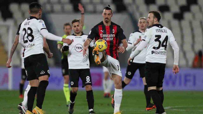 Calciomercato Milan Erlic Spezia