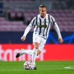 Arthur in azione con la Juventus