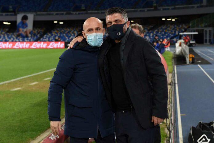 Napoli, gol italiano per la panchina