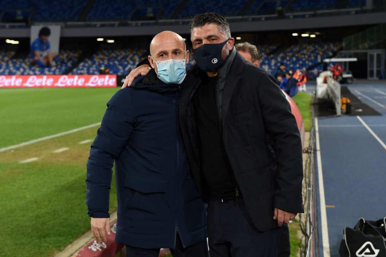 Calciomercato Napoli, post Gattuso | Non solo Sarri: occhio a Italiano!