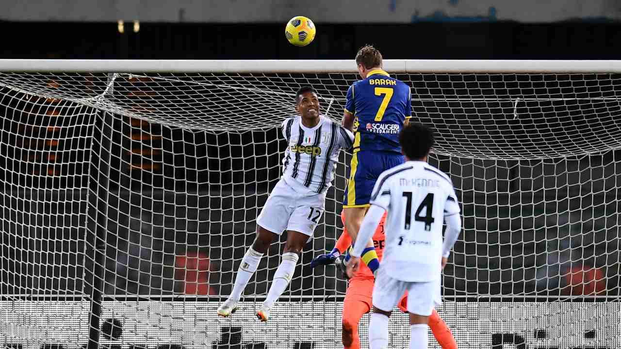Serie A, Verona-Juventus 1-1: Ronaldo non basta, Barak gela Pirlo