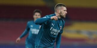pagelle Roma Milan Rebic