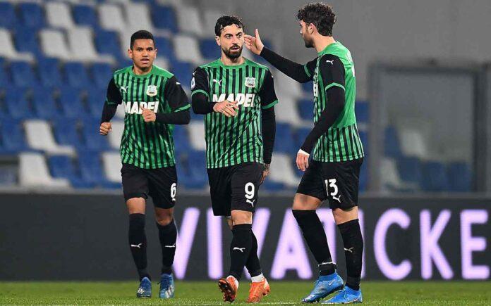 Serie A, Sassuolo-Bologna 1-1 | Caputo risponde a Soriano nel derby emiliano