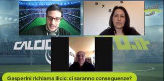 Mutti a CMIT su Ilicic e Gattuso