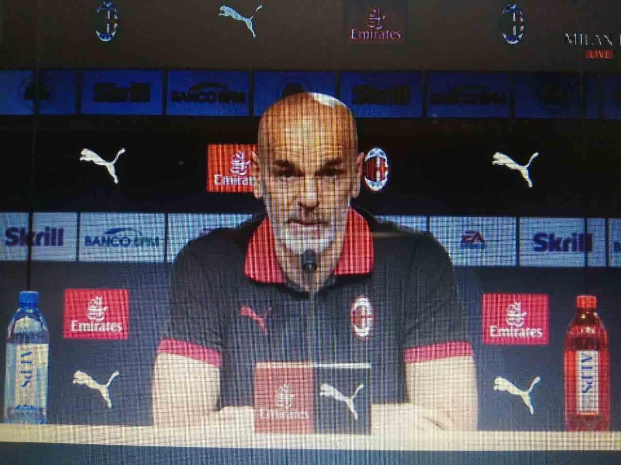 Milan-Udinese, Pioli in conferenza
