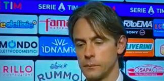 Inzaghi post Benevento Roma