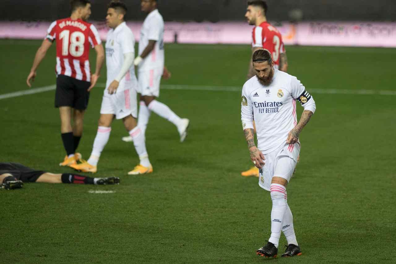 Real Madrid, il big salta l'Atalanta   Sergio Ramos viene operato