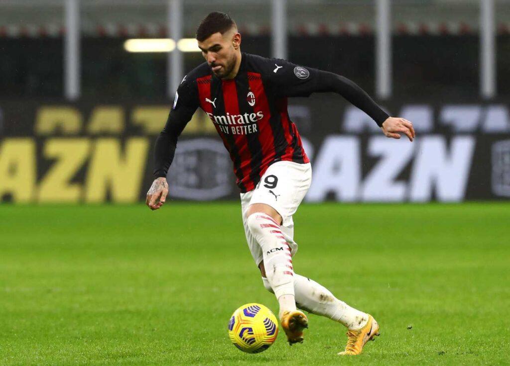 Milan, Theo Hernandez parla in vista del derby contro l'Inter